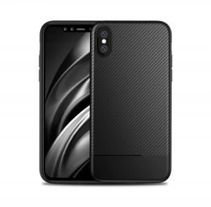 Ốp dẻo carbon iPhone X
